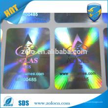 ZOLO PET sécurise l'autocollant hologramme avec numéro