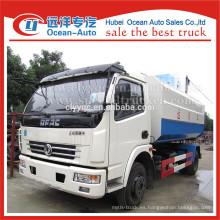 DFAC 4x2 buena venta de camiones de basura auto-carga