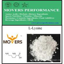Suministro de Fábrica Aminoácidos de Grado Alimenticio L-Lisina / L-Lisina HCl