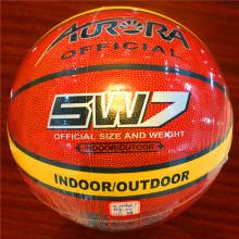 Baloncesto personalizado desgaste-resistencia calidad 12pieces barato # 5 # 6 # 7 # PU Sg0025 baloncesto