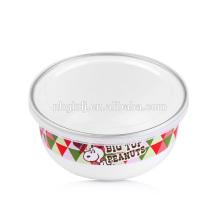 custom enamel bowl & carbon steel with enamel coating enamel ice bowl