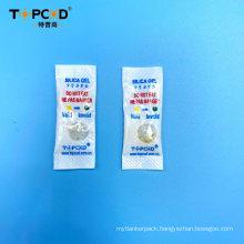 0.5GM 97% White Silica Gel Mix 3% Orange Silica Gel Desiccant Bag with Window Film