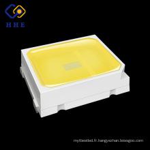 le blanc lumineux élevé 0.5w 2835 smd a mené des spécifications pour l'ampoule menée