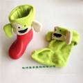 Дети и взрослые 100% полиэстер Прекрасные трикотажные Welly носки для Rainboot