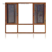 Thermal Break Aluminum Casement Windows with Fixed Glass (FT-W108)