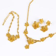 Xuping flores conjunto de jóias de casamento (61180)