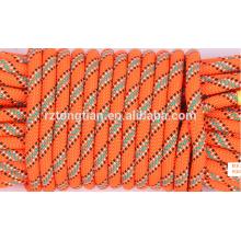 Cuerda trenzada de poliéster de color