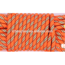 Colored polyester braided rope