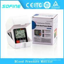 Портативный домашний цифровой монитор кровяного давления запястья, монитор артериального давления запястья руки, Сфигмоманометр