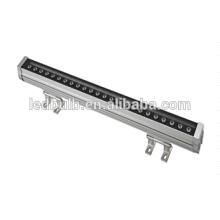 Rondelle imperméable à l'eau IP66 Barre d'éclairage extérieure, RGB Led Washer Light