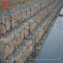 Malha de Gabião usada para engenharia de proteção de encostas