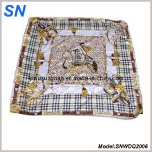 2015 Art und Weisedame Satin Paisley Quadrat Schal 2006