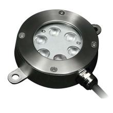 IP68 de acero inoxidable RGB LED empotrada fuente de luz