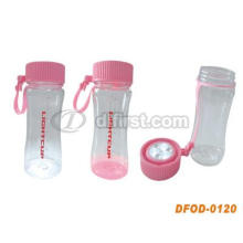 Portable Solar LED Water Bottle for Outdoor Using