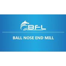 Molino de extremo de la nariz de la bola del carburo de la fábrica de BFL China para el funcionamiento del metal, molinos de extremo de la nariz de la bola del corte del metal del CNC