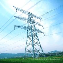 500kv Double Circuit Power Transmission Linear Stahl Rohr Turm