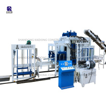 QT10-15 automatic interlocking concrete cement hollow solid paver curbstone brick block making machine price in Central Africa
