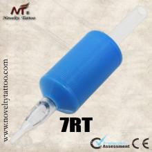 N501-3 Круглые синие резиновые татуировочные трубки 25 мм