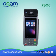 Mobile Handheld POS Terminal with internal thermal printer and support WIFI,GPRS