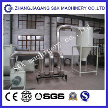Máquina reciclando de la película plástica de 300kg / H PE / PP