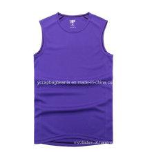Camisa respirável dos homens T do esporte