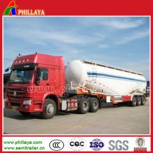 3 Achsen Zement Tanker für Sattelauflieger
