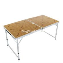Mesa de dobramento de acampamento ao ar livre por atacado, tabela de dobradura dos assados