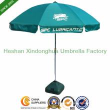 Promotional Beach Umbrella with Custom Logo, Advertising Sun Umbrella (BU-0048W)
