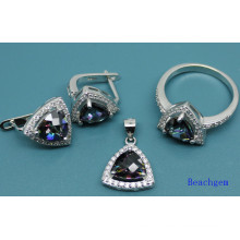 Fashion Mystic Cubic Zirconia Jewellery Set (S3306)