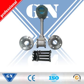 Intelligent Vortex Flow Meter Without Temperature and Pressure Compensation