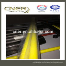 Tubo de fibra de vidrio de resina epoxi Cner Colorful de marca con alta resistencia