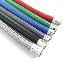 Manufacturer 304 stainless steel braided PTFE hose