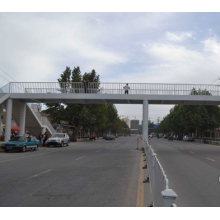Factory directly provide for High Strength Steel Pedestrian Bridge overcrossing steel structure pedestrian bridge export to Malaysia Manufacturer