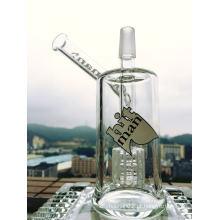 Dois Size Hitman Glass Cup atacado Birdcage Percolart fumar para Vaping Pipe