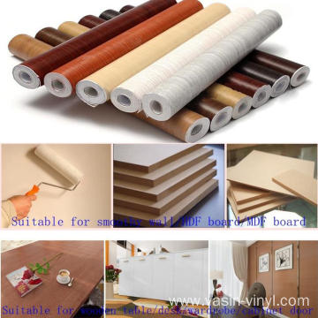PVC Waterproof Self Adhesive Wood Vinyl Roll