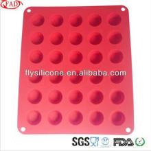 FDA & LFGB Preço de Fábrica Promocional Smart Silicone Cupcake Mold