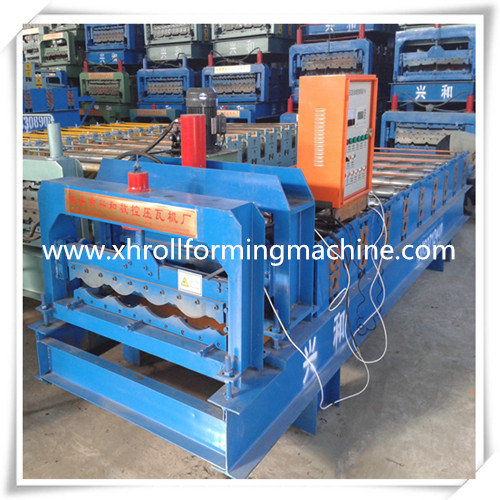 Galzed Cold Roll Forming Machine