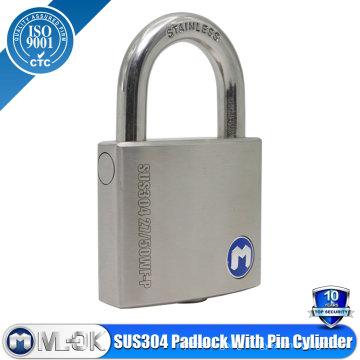 Stainless Steel Pin Tumbler Padlock