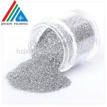 100% pure shinny Glitter Powder High quality golden/silver PET Mylar Ornament Powder