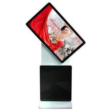 L'affichage à cristaux liquides de seul affichage à cristaux liquides de support de 46 pouces tournent l'affichage numérique de la publicité / affichage d'écran tactile