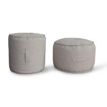 Круглая форма кровати кресло-мешок