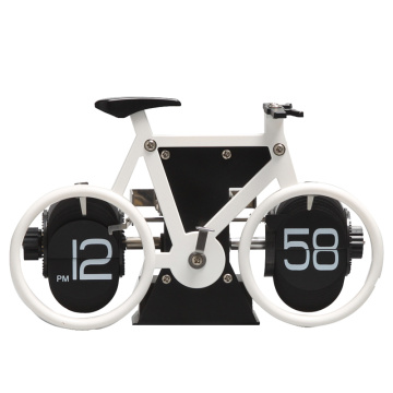 Horloge à bicyclette pour table