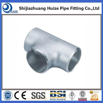 Paslanmaz çelik tee butt welded fitting