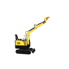 Mini excavadora hidráulica de 800 Kgs 1000 Kgs