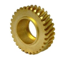High precision cnc turning machining brass pinion gears