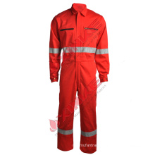 Aramid flame prevention coverall for protective