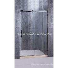 Puerta de ducha de acero inoxidable