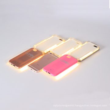 Phone Case for iPhone with Selfie Flash LED Light