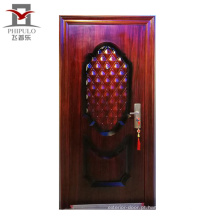 porta de aço de segurança de casa moderna