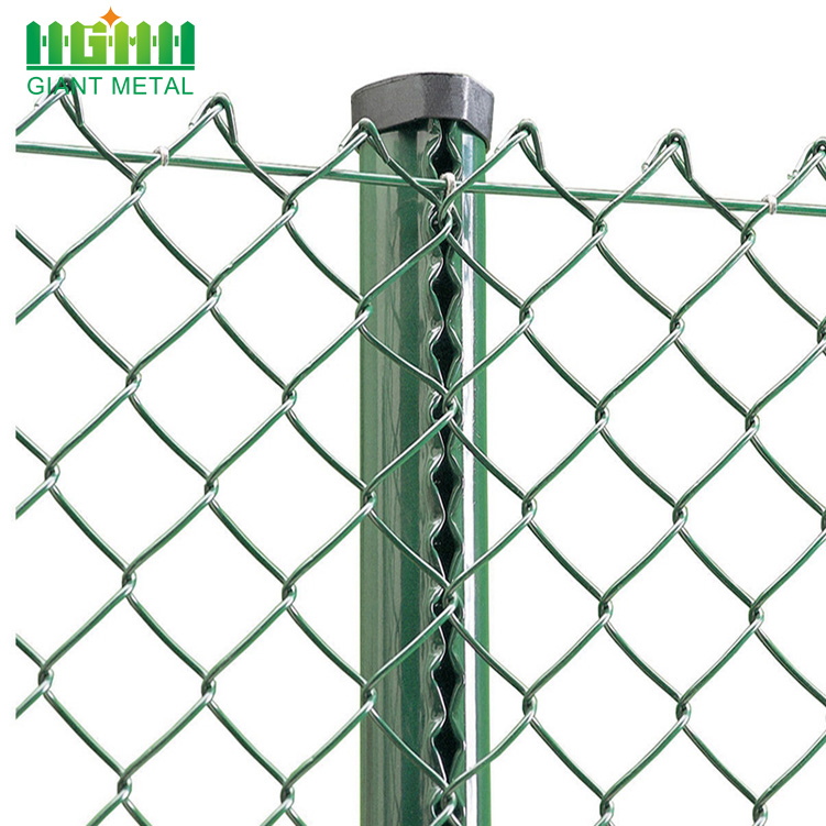 Cheap and Fine Diamond Mesh Chain Link Fence China Manufacturer
